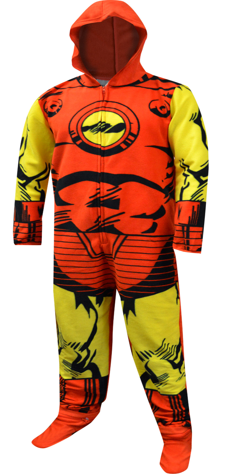Footie Pajamas for Men- Adult Footed Pajamas and Union Suits 9bd376081