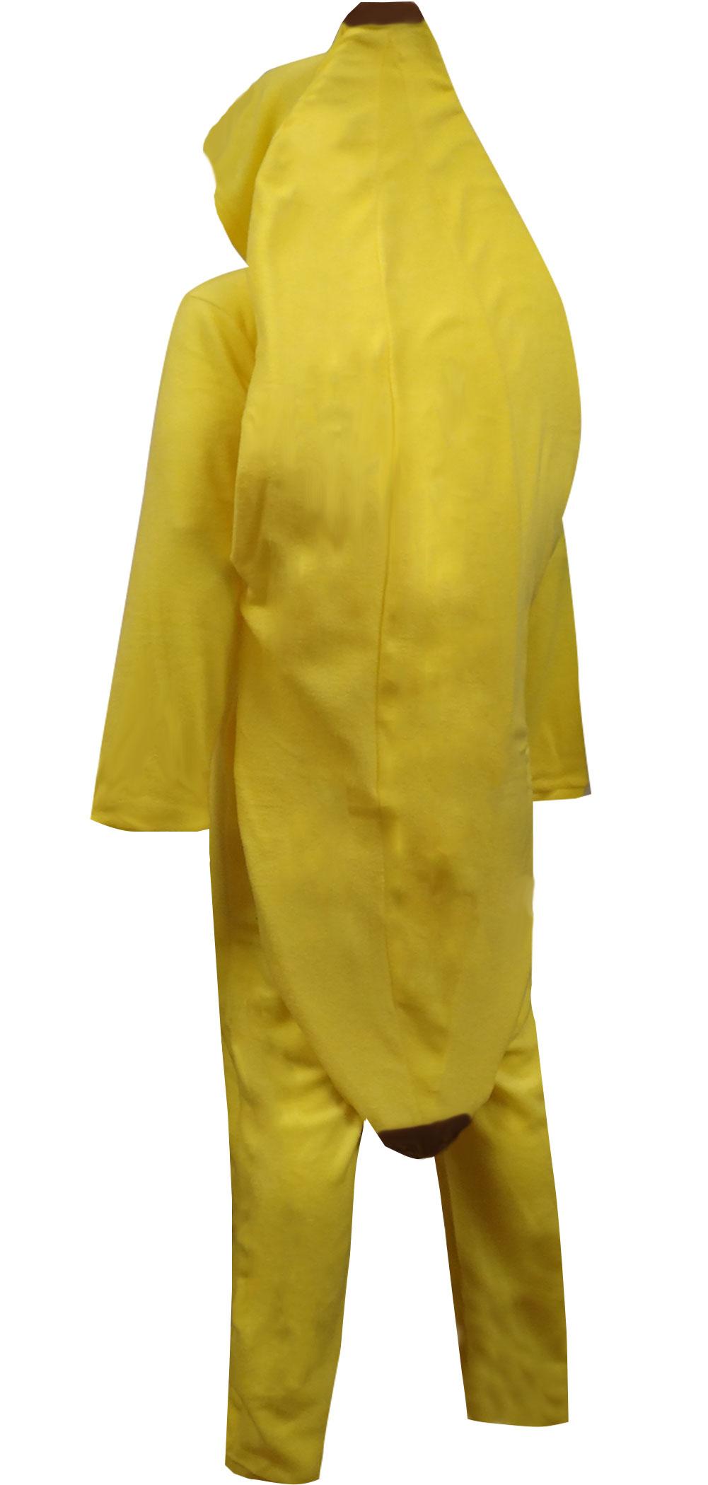 Image of Big Yellow Banana Hooded Onesie Pajama for men